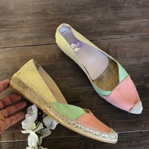 Ras anthropologie pointed espadrilles